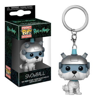 Funko Pop! Keychain: Rick & Morty - Snowball (32351)