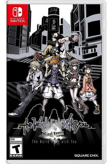 The World Ends With You: Final Remix - Switch Lacrado