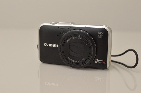 Câmera Canon Powershot Sx230 Hs - Praticamente Nova!