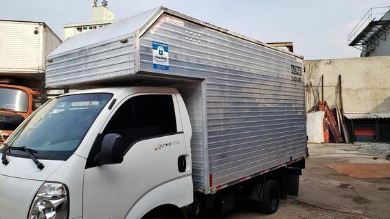 Bau Aluminio 3m Maleiro Hyundai Hr E Kia Bongo