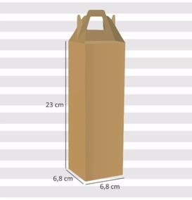 Caixa Maleta Para Embalar Taça | 12 Und Sem Impressão