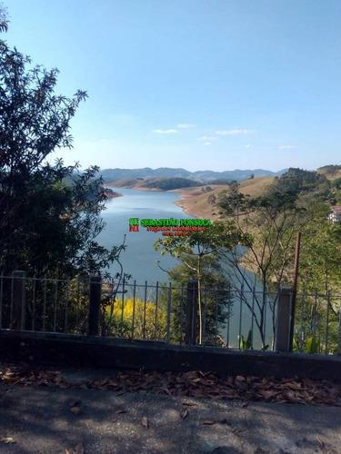 Imagem 1 de 4 de Bela Chácara Vista Linda Para A Represa De Paraibuna - 955