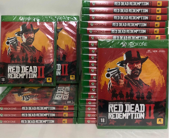 Red Dead Redemption 2 Xbox One + Mapa Nacional