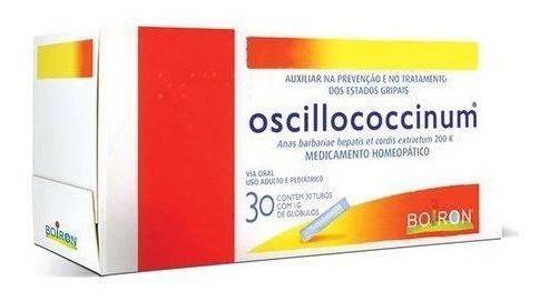 Oscillococcinum 200k Com 30 Tubos 1g De Glóbulo Cada Boiron