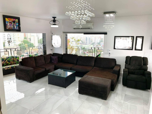 Imagem 1 de 14 de Apartamento 4 Dormitórios 187m2 - Morumbi - Todo Reformado