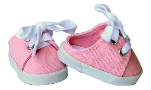 Zapatos Tenis Para La American Girl Y Muñecas Similares