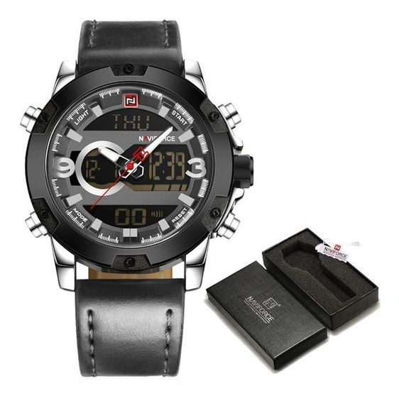 Relógio Masculino Esportivo Naviforce Original Fg