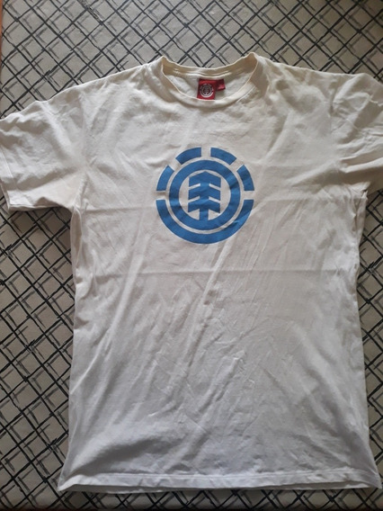 Remera Blanca Element Original Talle M