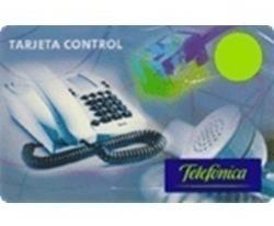 Tarjeta Telefónica Control Pin 50 - Stock 24 Hs.