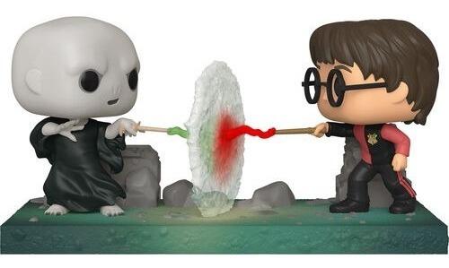 Imagen 1 de 2 de Figura Funko Pop, Harry Vs Voldemort - 119 - Moments