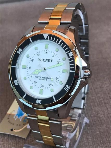 Relógios Masculino Tecnet Original Na Promoção Aproveite S2.