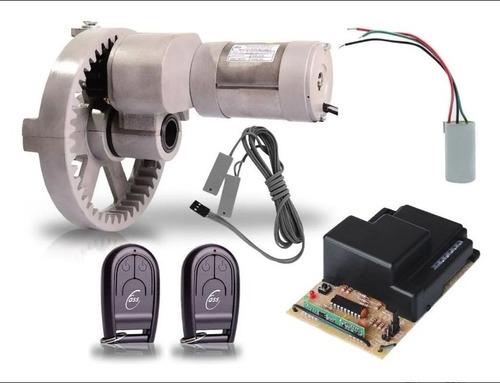 Imagem 1 de 4 de Kit Automatizador Motor Porta De Enrolar Automática 16 Mts²