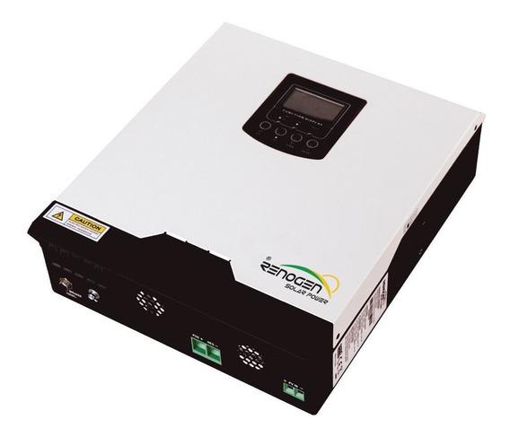 Inversor Cargador Solar 3kva 6kva 24v 220v Pwm 50a Renogen