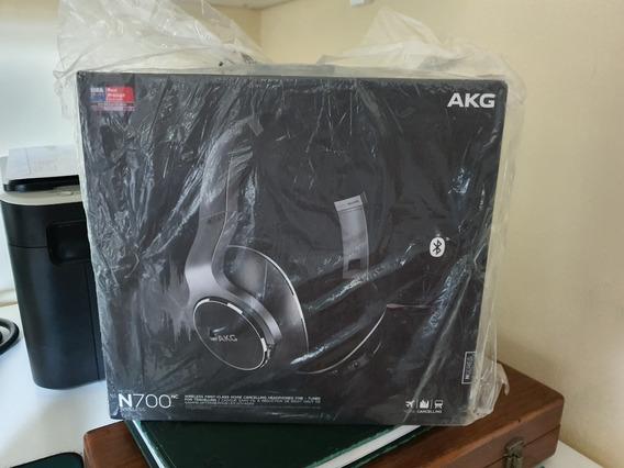 Fone Akg Estéreo Bluetooth Over Ear Akg N700 Nc