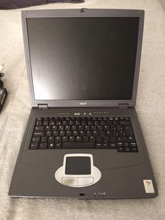 Notebook Acer Travelmate 290e Funciona Flex Pantalla Roto