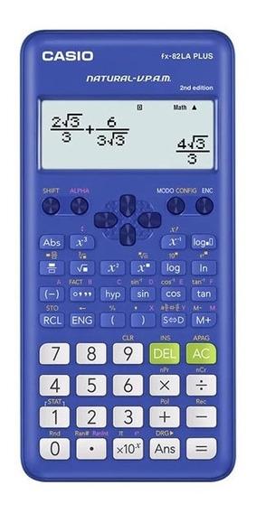 Calculadora Cientifca Casio Fx-82la Plus Azul O Rosa 2da Edi