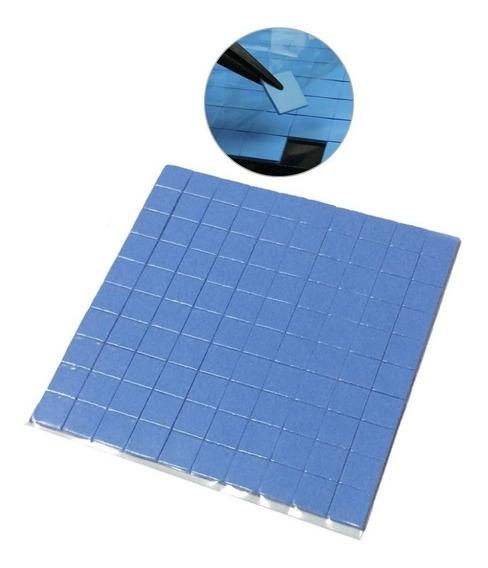 Thermal Pad Termico 10mm X 10mm X 1mm Com 100 Unidades