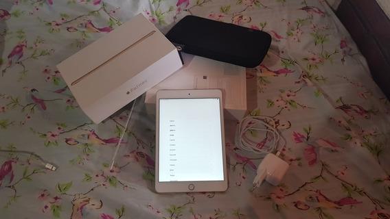 iPad Mini 3 Gold 16gb Touch Id Perfeito Estado