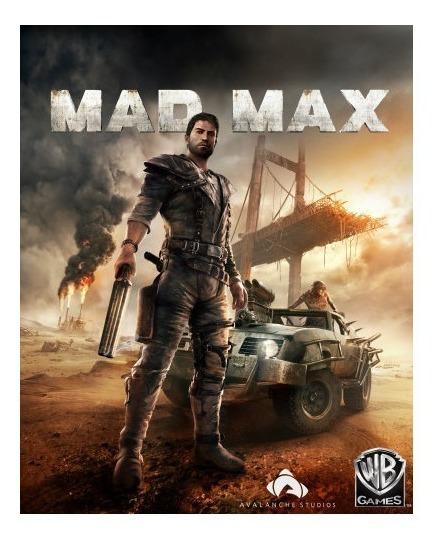 Mad Max Pc - Dvd + 1 Jogo (midia Fisica)