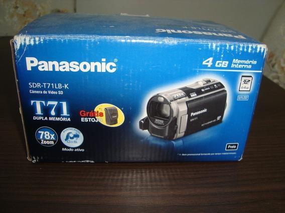 Filmadora Panasonic Sdr-t71lb-k