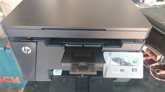 Impressora Multifuncional Hp Laserjet Pro Mfp M125a 1470 Pag
