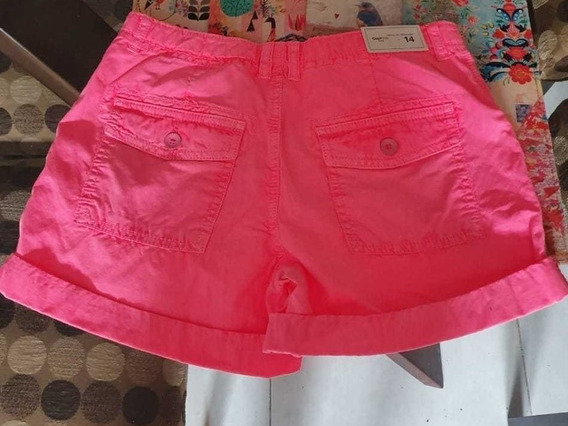 Vendo Short De Gap Rosa Fluo