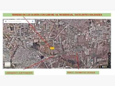 Nocnok Id: Mx17-cl4780. Terreno Residencial - Venta, Corregidora, Querétaroterreno En Los Olvera, Son 5,000 M2 A $2,200 M2, Excelente Ubicación En Zona De Alta Plusvalía, De Fácil Acceso, Cuenta Co