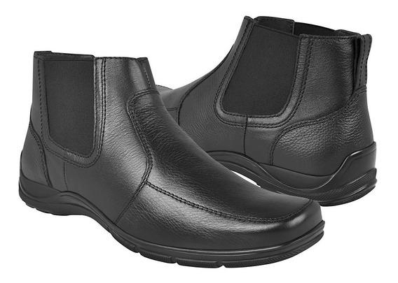 Botines Casuales Para Caballero Flexi 97904 Negro