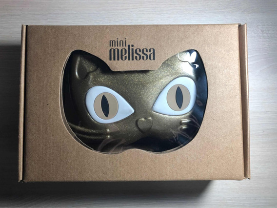 Mini Melissa Bag Cat - Dourada - Original