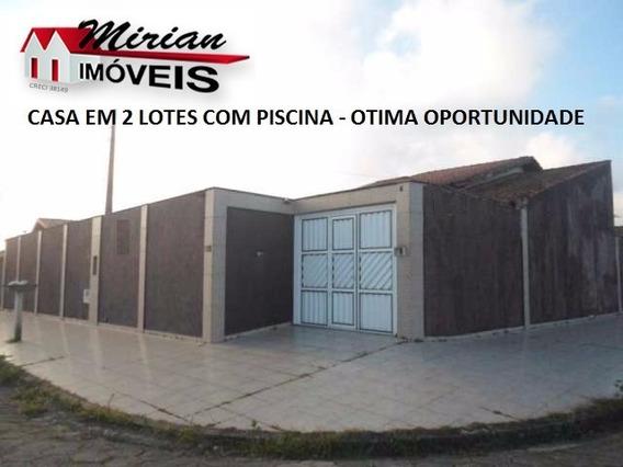 Casa Em 2 Lotes Com Piscina E Jardim - Oportunidade - Ca00902 - 4683078