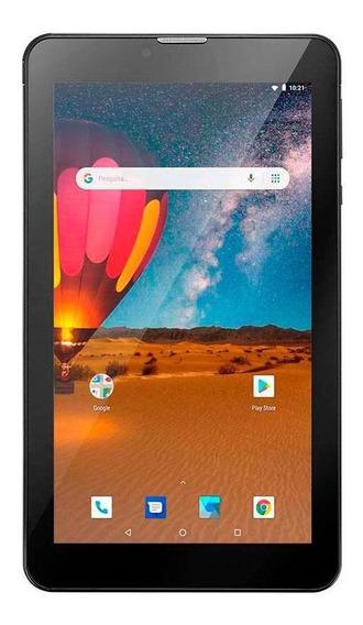 Tablet Multilaser M7 3g Plus 16gb Preto Com Cartão Sd 32gb