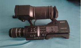 Otimas Filmadoras Uma Sony Mc 2000 E Uma Sony Nex Ea 50