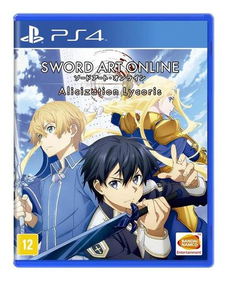 Sword Art Online Alicization Lycoris Ps4 Mídia Física Novo