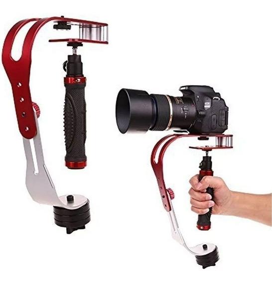 Steadycam Estabilizador Câmera Gopro Dslr TriPod Celular
