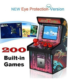 Retro Mini Arcade Game Machines Para Niños Con 200 Videojueg