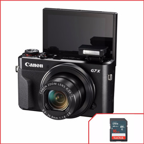 Câmera Powershot Canon G7x Mark Ii Wifi 20.1mp + Cartão 16gb