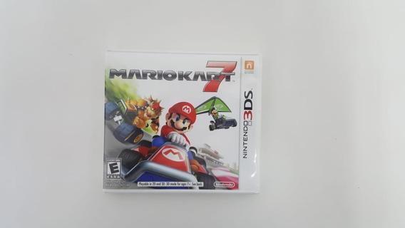 Jogo Mario Kart 7 - Nintendo 3ds - Original - Mídia Física