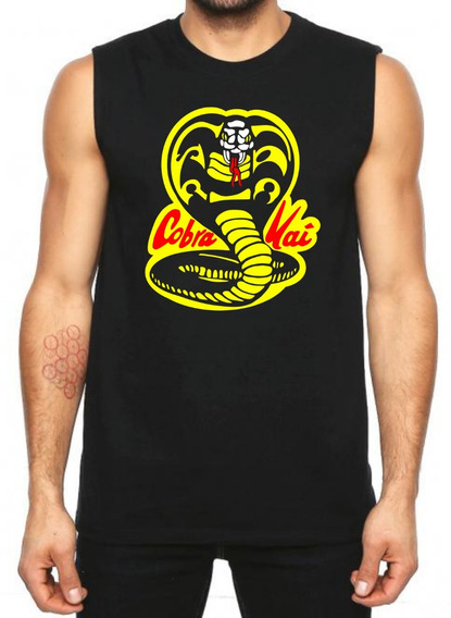 Playera Cobra Kai Karate Kid Sin Mangas