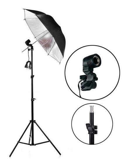 Kit Iluminação Luz Contínua Para Estúdio Fotográfico