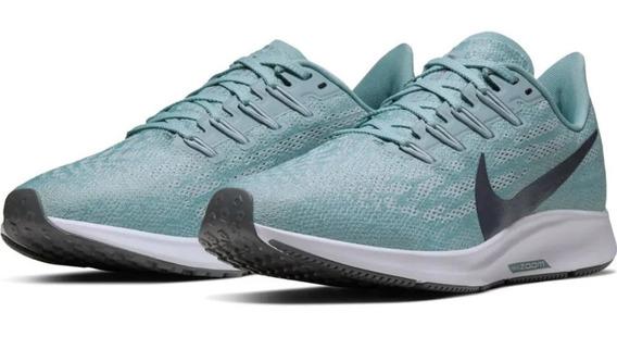 Tênis Nike Air Zoom Pegasus 36 Feminino Azul