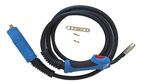 Antorcha Mig 250 Amperios X 3 Mts, Conector Europeo