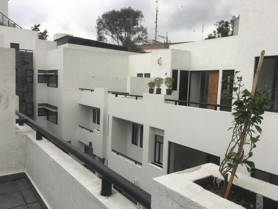 Del Valle, Bonitas Casas En Calle Arbolada, Conjunto De 6 Casas Con Roof Garden