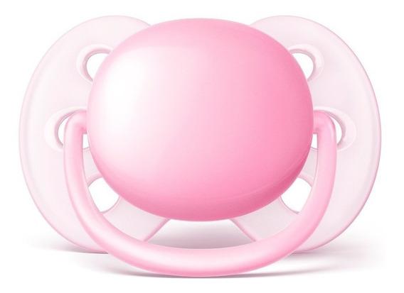 Chupeta Avent Ultra Soft Rosa (single) 0-6 Meses