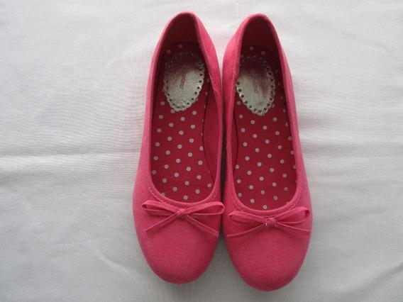 Zapatos- Chatitas Con Detalles De Brillos, Para Nena, Marca