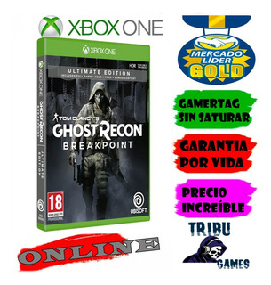 Tom Clancys Ghost Recon Breakpoint Ultimate Xbox One Online