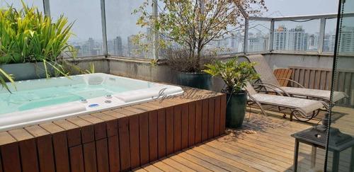 Imagem 1 de 25 de Cobertura Com 3 Dormitórios À Venda, 350 M² Por R$ 3.750.000,00 - Perdizes - São Paulo/sp - Co1327