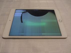 iPad Mini 4 128gb - Tela Trincada - Para Retirada De Peças