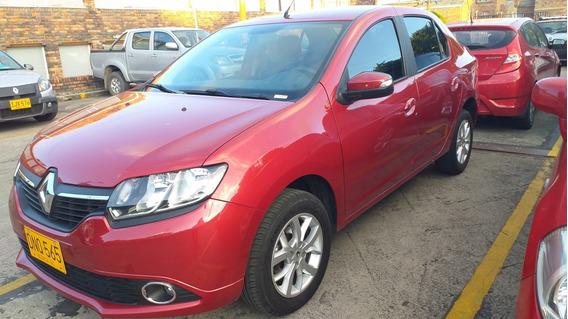 Renault Logan Privilege, Automatico , 1.600. Rojo Fuego