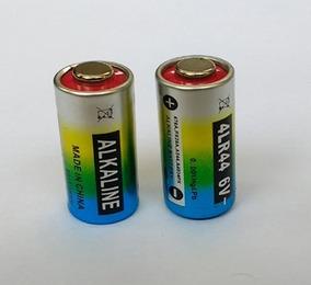 2 Unidades Pilha Bateria 6v 4lr44 Para Coleiras Anti Latido