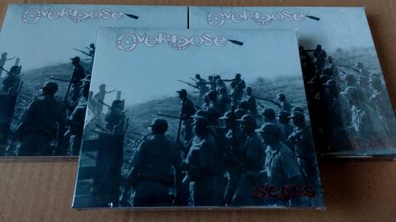 Cd Overdose - Scars Cd+dvd / Novo E Lacrado